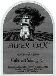 Silver Oak label